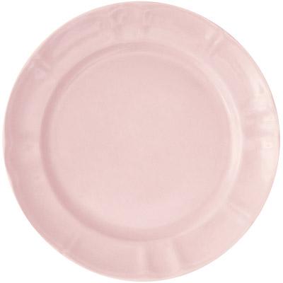 EXCELSA Chic陶製淺餐盤(粉27cm)