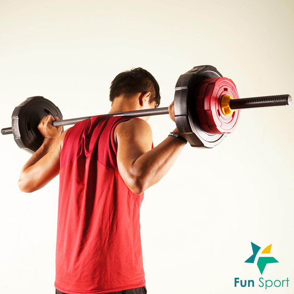 FunSport 威特力 組合式長槓鈴30kg組-台灣製 深蹲 硬舉