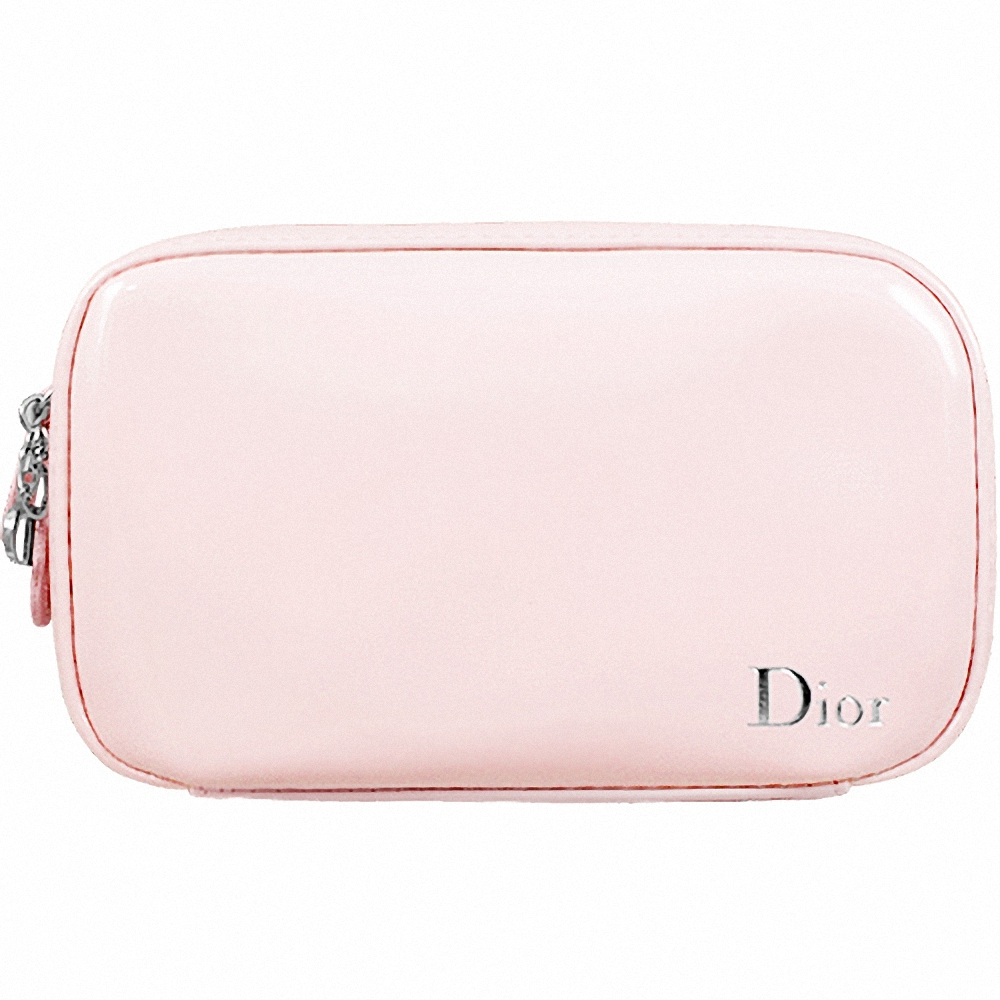 Dior 迪奧 絕色簡約漆皮化妝包