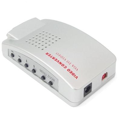 VGA to TV(VGA/AV端子) 電腦轉電視 轉換盒