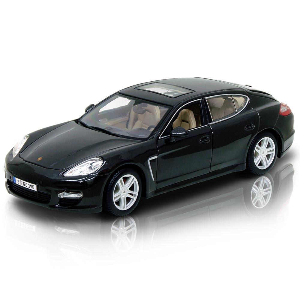 Porsche Panamera Turbo 1:18合金模型車 (鐵灰)