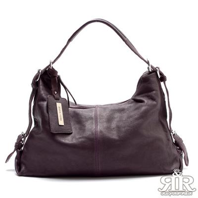【2R】酷馳羊皮吊牌包(羅蘭紫)