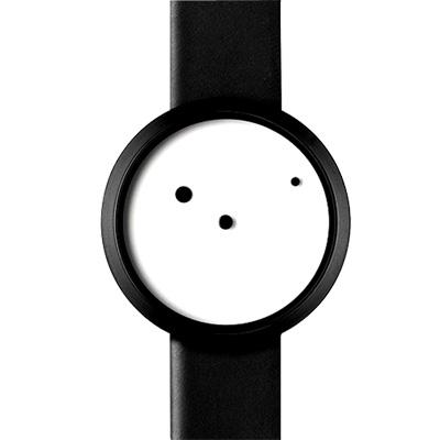 NAVA DESIGN Ora Lattea 時尚腕錶-白/36mm