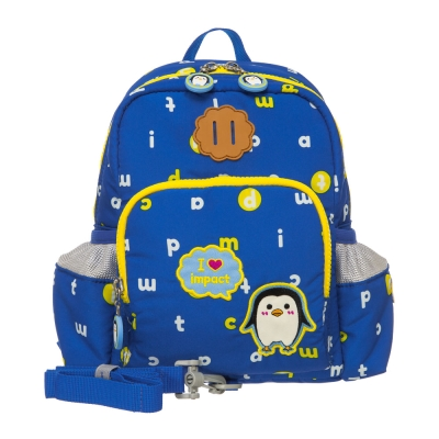 IMPACT 怡寶歡樂南極-小後背泡泡包-藍色IM00M02BL
