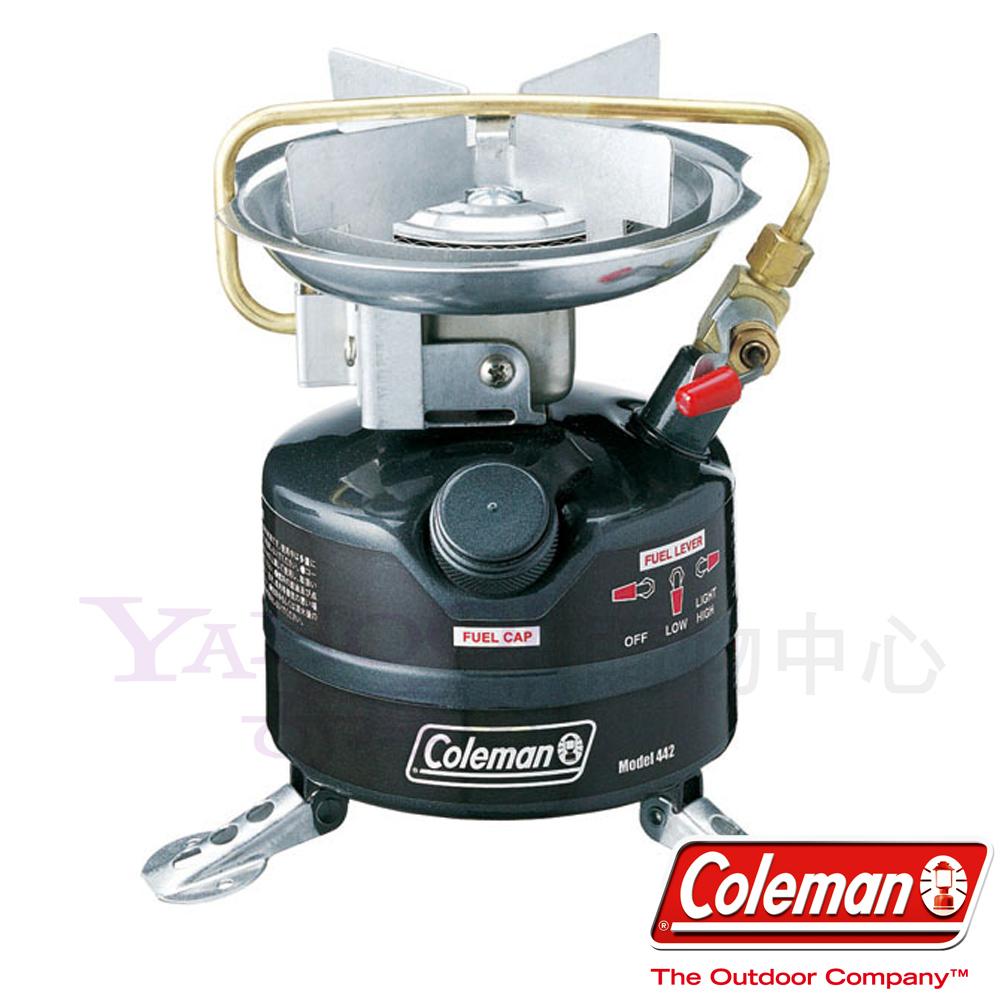 Coleman 0442 442氣化爐 可用2.2小時 高火力輸出爐具(公司貨)