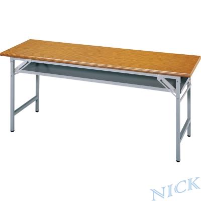 【NICK】CPA美耐板檯面櫸木紋會議桌(180×90)