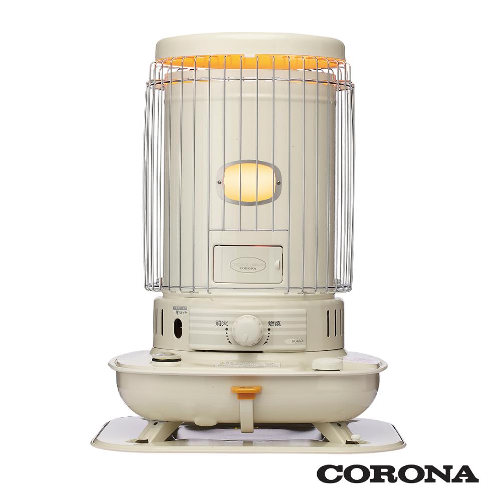 日本CORONA古典圓筒煤油暖爐SL-6616【公司貨】