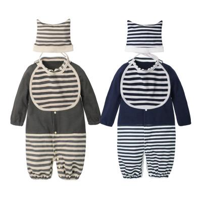 baby童衣 海軍風爬服睡袋兩用套裝 70011