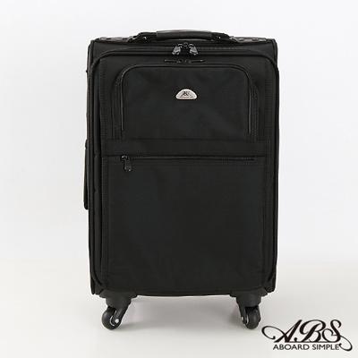 ABS愛貝斯 18吋 直立式拉桿電腦公事包 (黑) 26-028