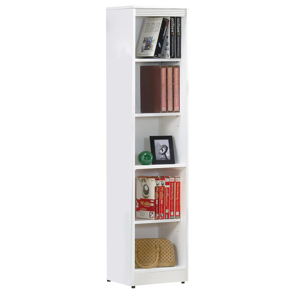 時尚屋 布萊尼1.3x5.5尺開放書櫃 寬39.5cm