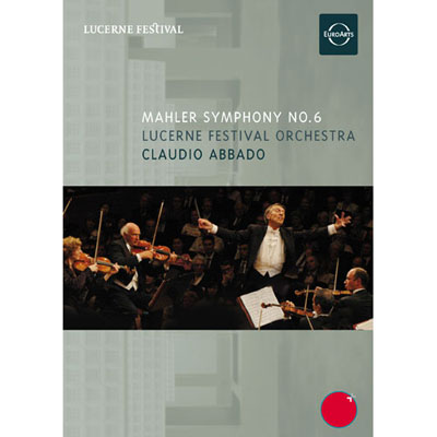 馬勒六號悲劇阿巴多指揮琉森節慶管弦樂團DVD