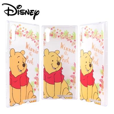 Disney迪士尼SONY Xperia XZ防摔氣墊空壓保護套_賞花維尼