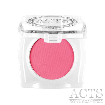 ACTS維詩彩妝 霧面純色眼影 玫瑰粉A102
