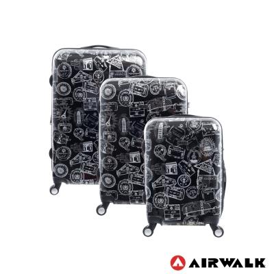 AIRWALK  - 精彩歷程 環郵世界行李箱20+24+28吋 三箱組(遊玩靚黑)