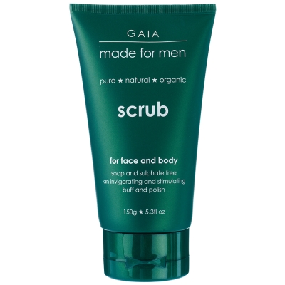 GAIA Made For Men Face&body Scrub蓋雅紳士磨砂膏150ml