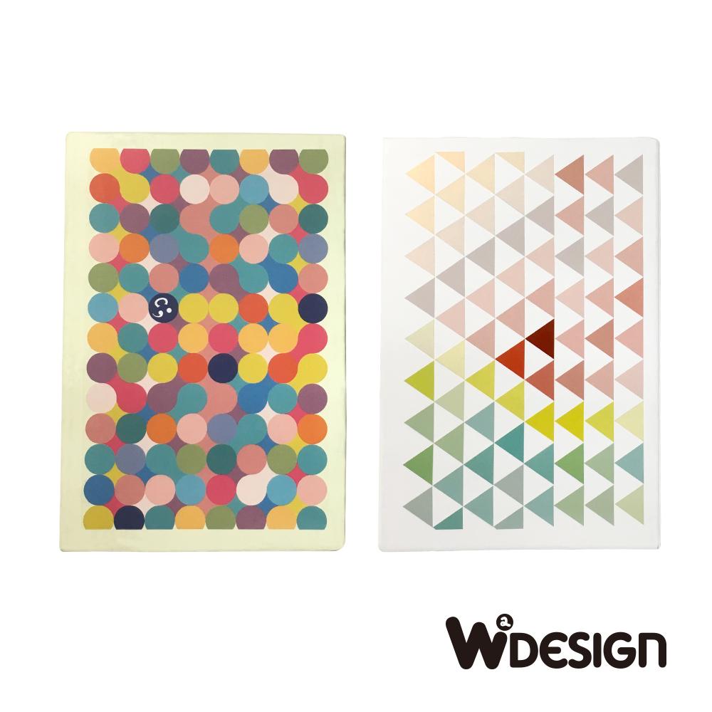 W2Design 森林撲克牌便條卡-兩入組(跳跳糖+前進)