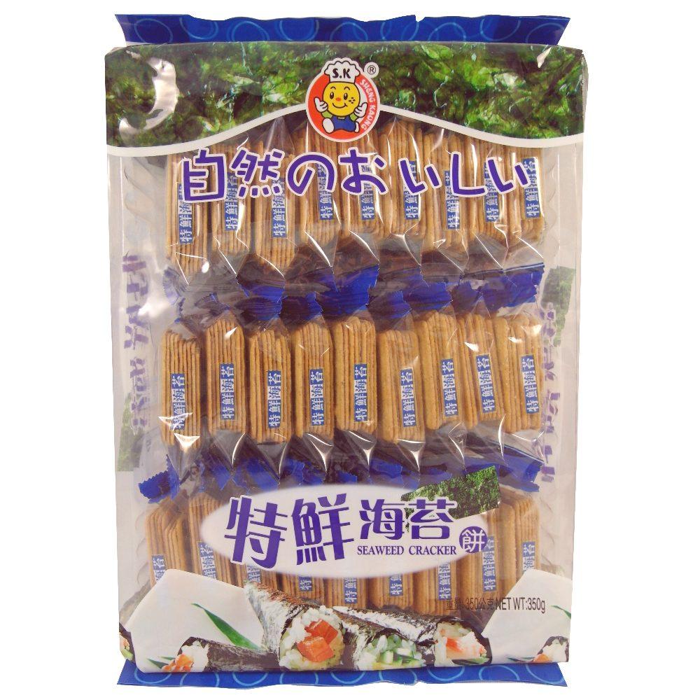 日日旺 特鮮海苔餅(350g)
