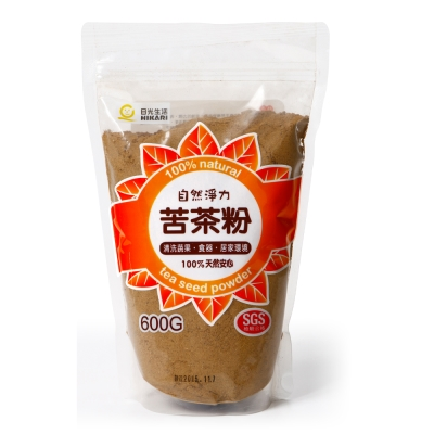 HIKARI日光生活  自然淨力苦茶粉 / 600G