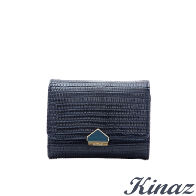 KINAZ-蜥蜴-真心不變三折式短夾