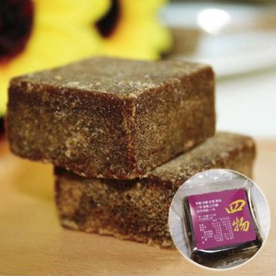 波比元氣生活館 黑甜黑糖塊-四物(25gx12塊)