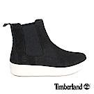 Timberland 女款黑色雙側鬆緊帶騎士短靴