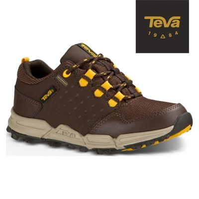 TEVA 美國 大童Wit防水休閒運動鞋(巧克力棕)
