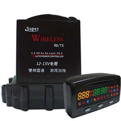 火狐狸GPS-A3 全頻雷射分離式警示器