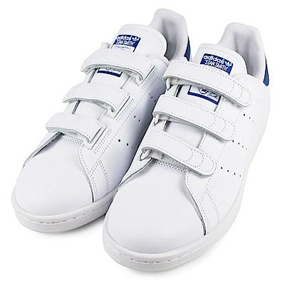 ADIDAS-STAN SMITH男休閒鞋S80042-白藍