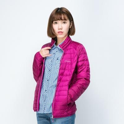 ATUNAS 歐都納 女款輕量羽絨外套 A-G1545W 紫紅