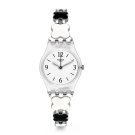 Swatch 原創系列 CLOVERCHECK 黑白幸運草手錶