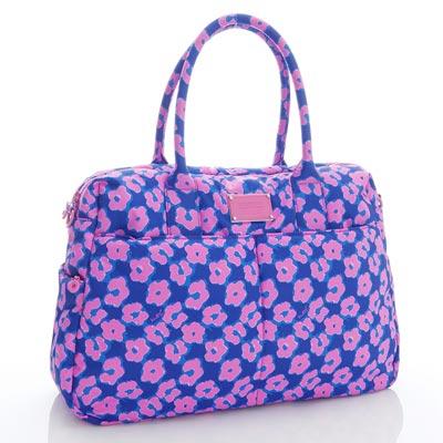 VOVAROVA空氣包-波士頓包-粉紫棉花糖