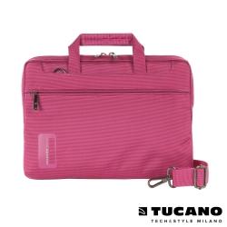 TUCANO WORK_OUT Air 11吋時尚亮彩薄型側背包-粉紅