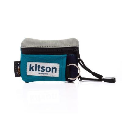kitson Outdoor  色塊拼接 Pass case 鎖匙/萬用包-BLUE