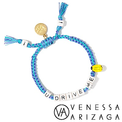 Venessa Arizaga YOU DRIVE ME BANANAS 藍色手鍊