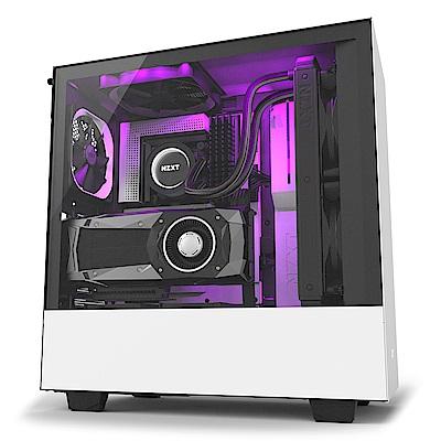 【NZXT】H500i 電腦機殼 白色