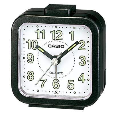 CASIO 桌上型指針鬧鐘(TQ-141-1)-黑