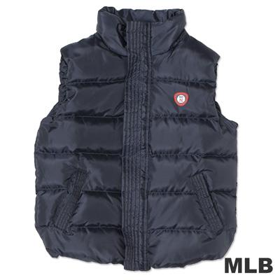 MLB-紐約洋基隊保暖羽絨背心-深藍(女)