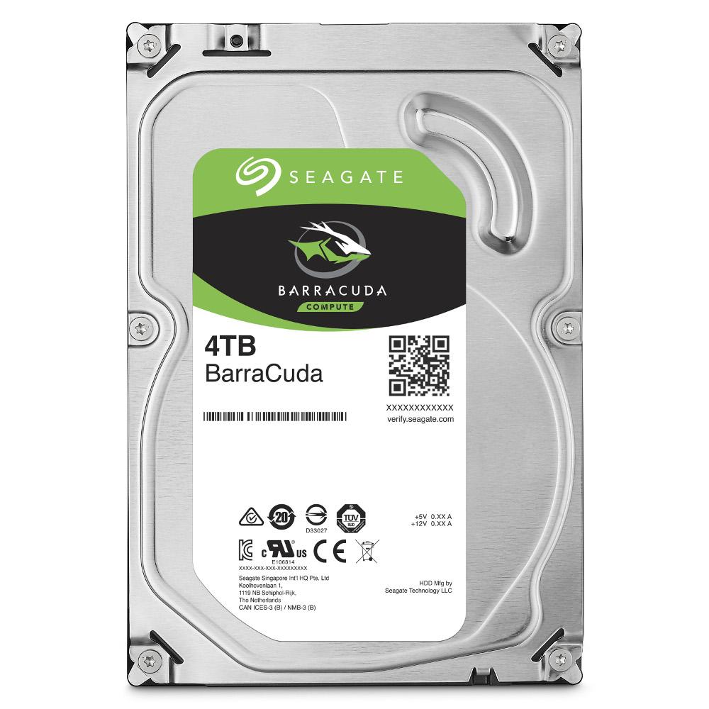 Seagate希捷 新梭魚 4TB 3.5吋 SATAIII 5400轉桌上型硬碟(ST4000DM004)