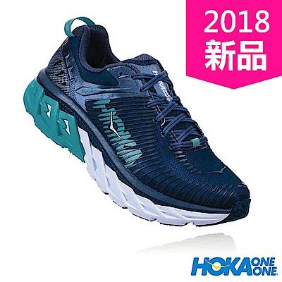 HOKA ONE ONE 女 ARAHI 2 WIDE 路跑鞋 海神藍/靛青