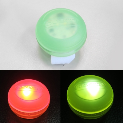 【DOSUN】Macaron (RDe80) 馬卡龍造型前後共用多功能警示燈台灣製-湖水綠