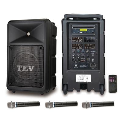 TEV 藍芽/CD/USB/SD三頻無線擴音機 TA680B-3