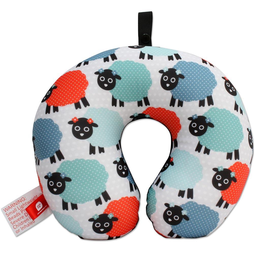 DQ 緩衝顆粒護頸枕(綿羊)