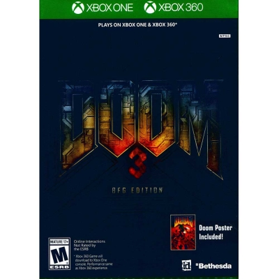 毀滅戰士 3 BFG版 Doom 3 BFG Edition- XBOX ONE 英文美版