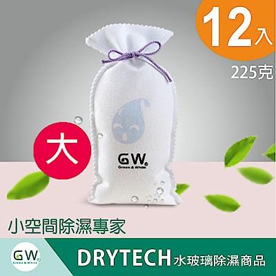 GW 水玻璃強效環保除濕袋225克(12入)