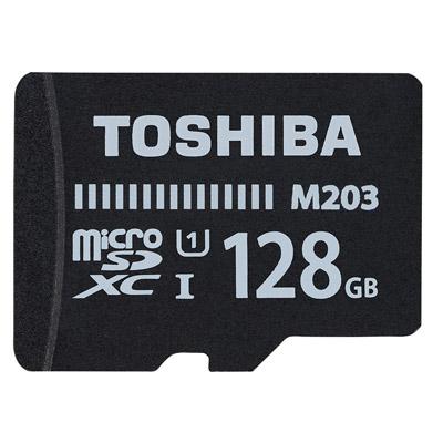 TOSHIBA Micro-SDXC R100MB (U1) 128GB 記憶卡(附轉卡)