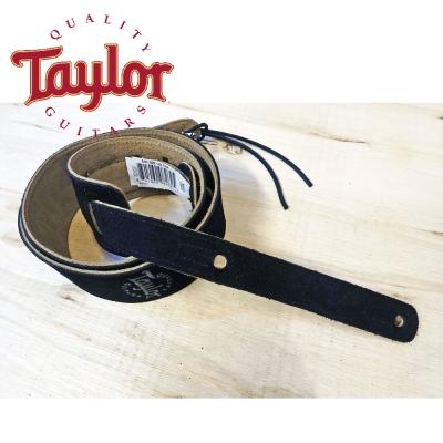 TAYLOR TLOP-62001 黑色 Suede 麂皮吉他貝斯背帶