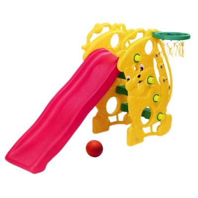 【寶貝樂】薩克斯風造型溜滑梯-黃色