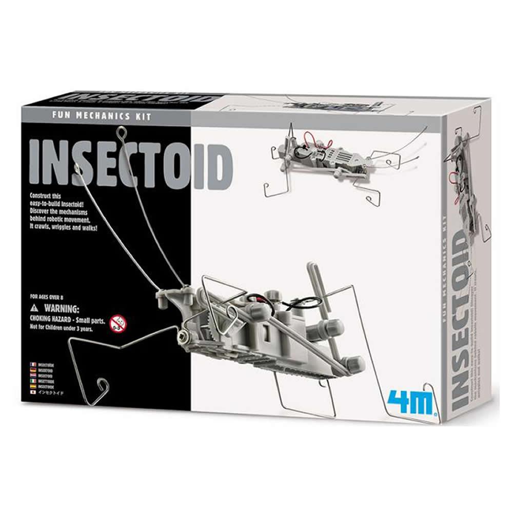 4M科學探索 - 昆蟲機器人