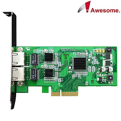 Awesome 伺服器級雙埠GigaLAN網路卡-AWD-PXE628