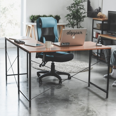 Home Feeling L型書桌椅組+電腦椅/電腦桌椅組(12色)-120x60x75